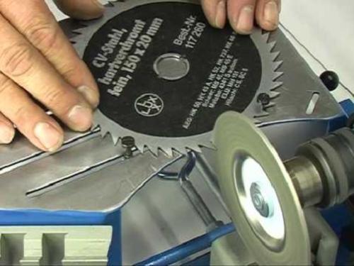 Как заточить дисковую пилу в домашних условиях