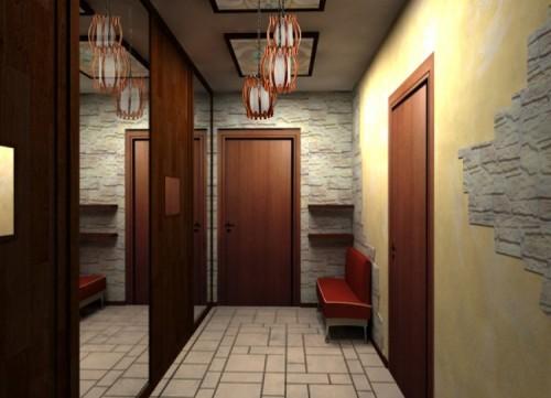 Как сделать ремонт в коридоре недорого