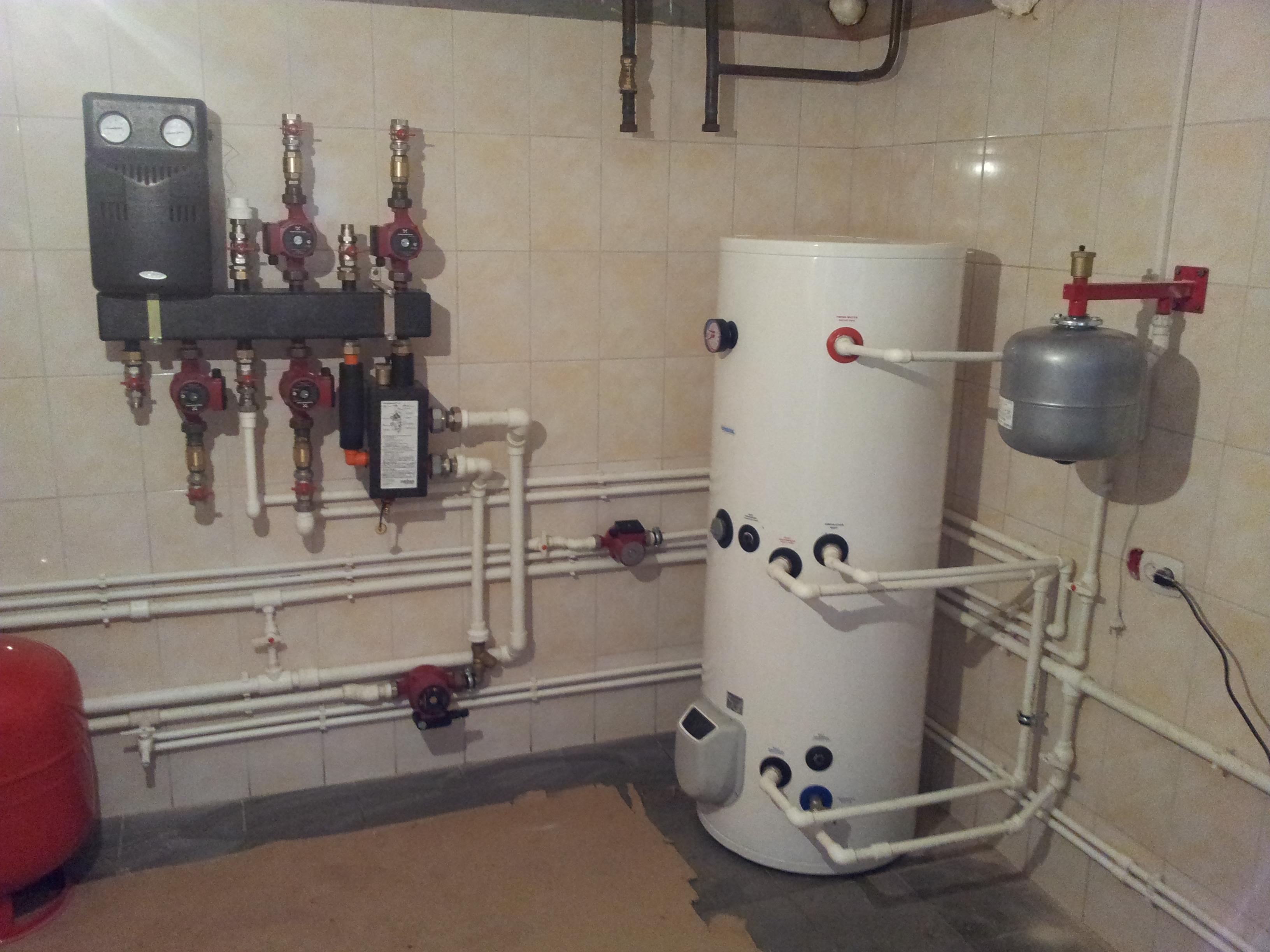 Очистка системы водоснабжения частного дома