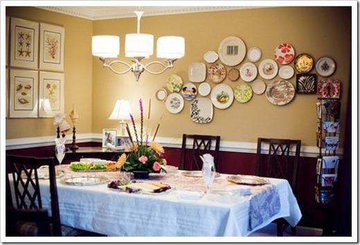 Как повесить декоративные тарелки на стену?