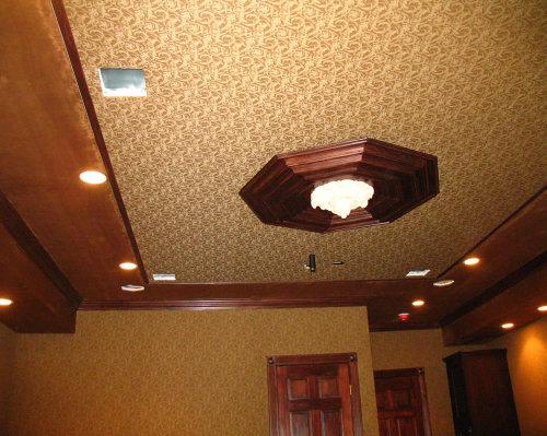 тканиевый натяжной потолок
