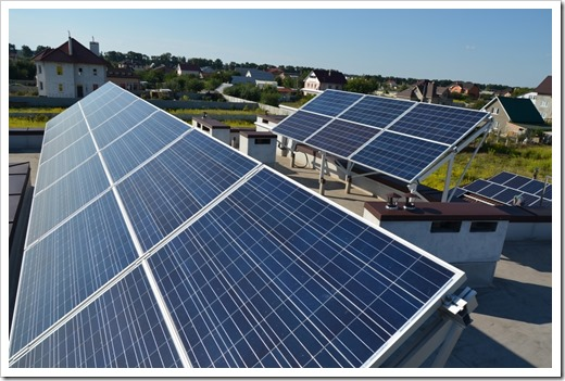 Солнечная энергия – батареи