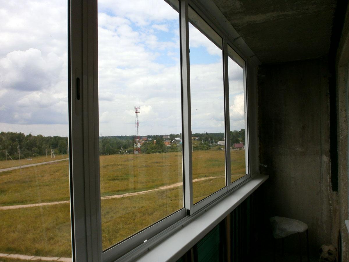 Как установить раздвижные окна