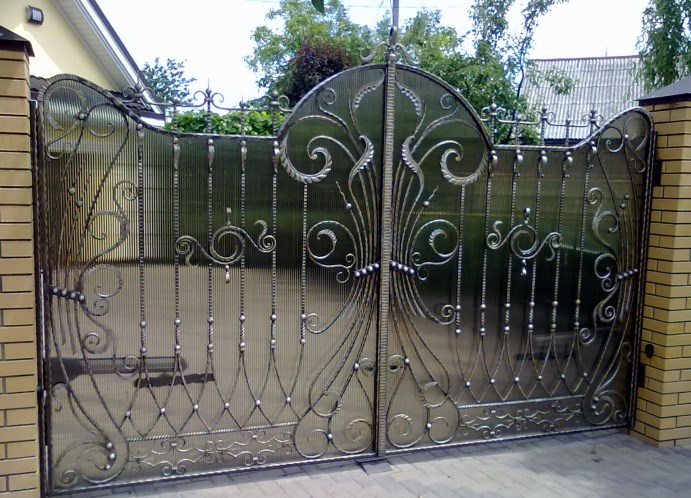 Основные виды ворот