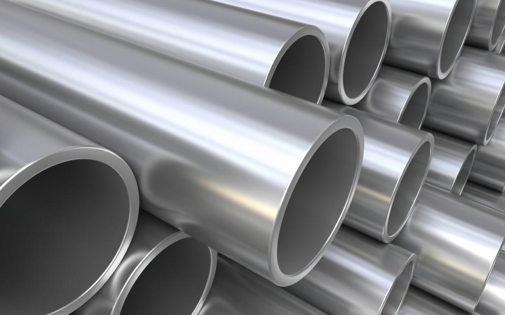 Водопроводные трубы, изготовленные из металла
