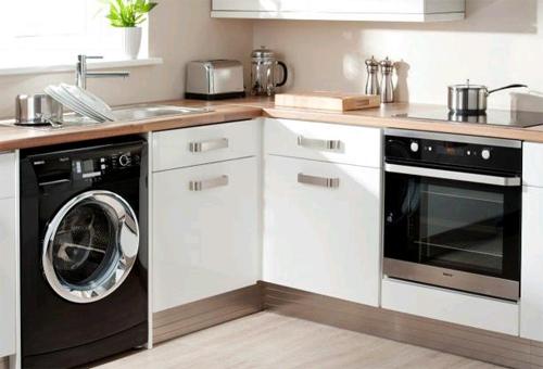 Где установить стиральную машинку