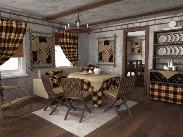 Какой стиль выбрать для оформления дачного дома