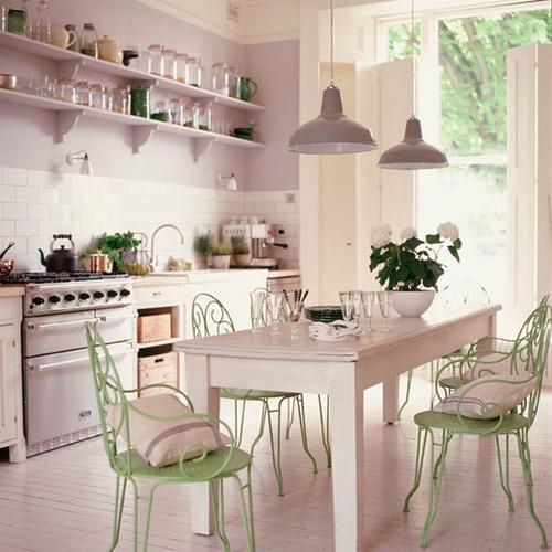 Кухня в французском стиле кантри