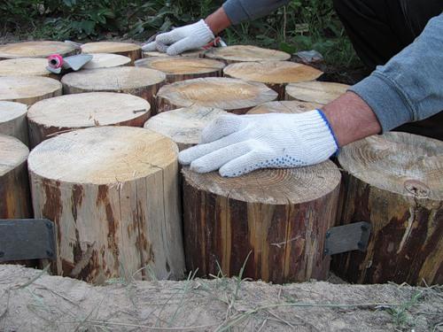 дорожка из дерева своими руками