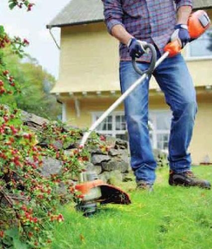 как выбрать садовый триммер