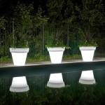 Встраиваемые LED-светильники в дизайне сада