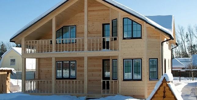 Строительство двухэтажных каркасных домов