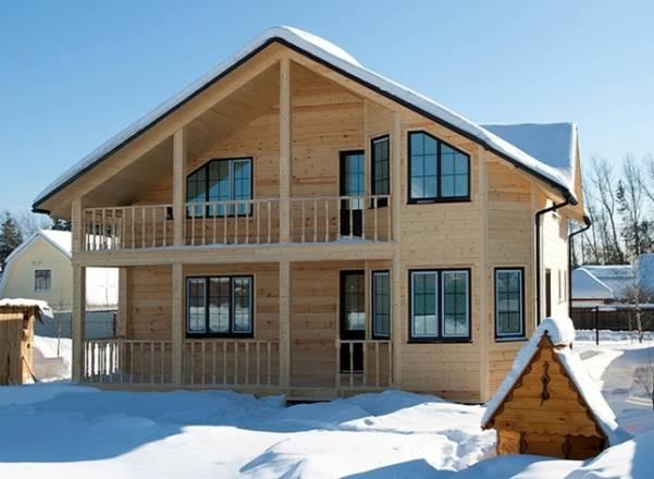 Как построить каркасный дом двухэтажный дом