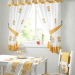 «Деревенские» короткие шторы