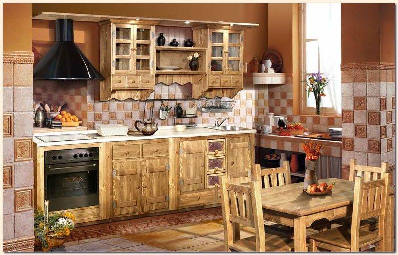 кухонный гарнитур на дачу фото