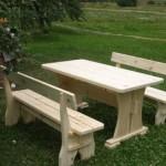 Мебель из дерева для дачи