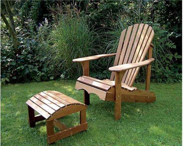 Преимущества и недостатки дачной мебели из дерева