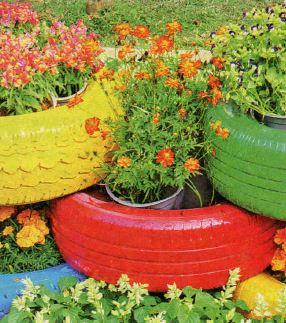 Бюджетный декор для сада