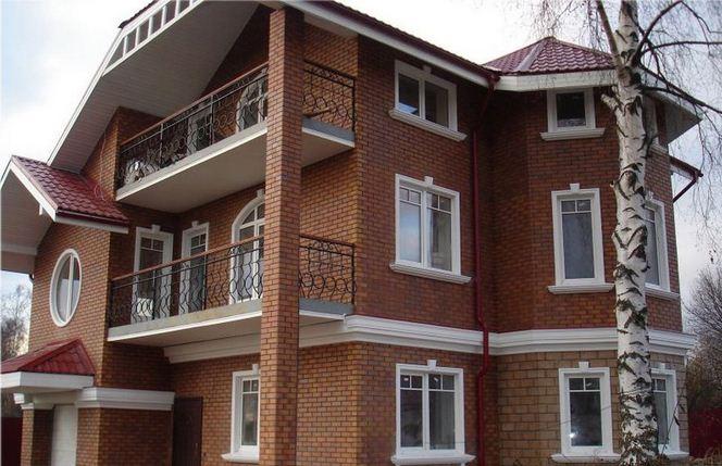 Декор фасадов из пенопласта
