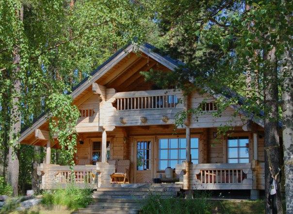 Великолепный дом в стиле шале