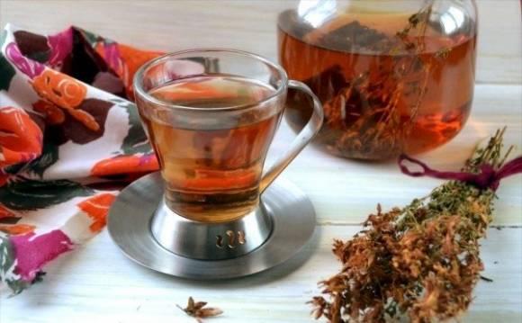 травяной витаминный чай