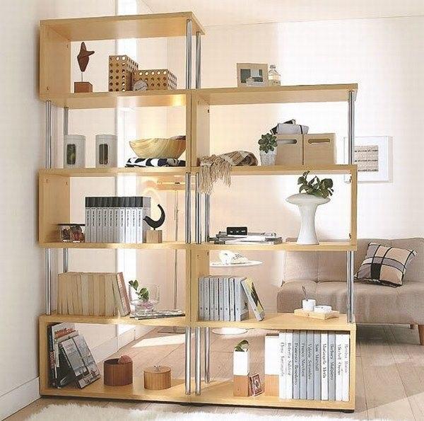 Преображение гостиной, стеллажи вместо шкафов