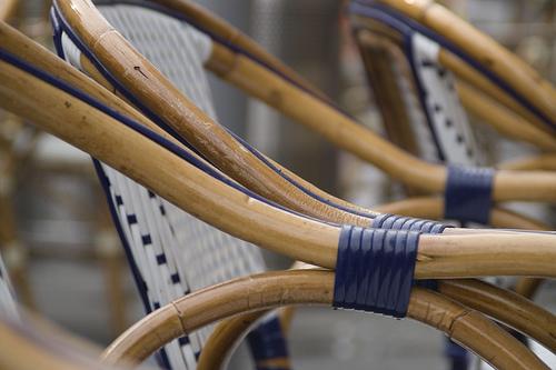 Уход за плетеной мебелью