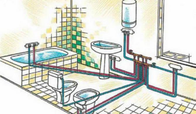 коллекторная разводка труб водоснабжения в доме