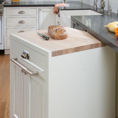 Кухонный стол-тумба для современной кухни