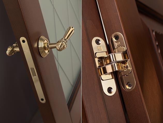дверные ручки для деревянных межкомнатных дверей