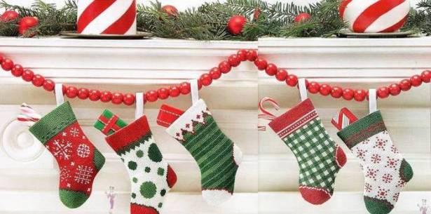 сапожок для новогодних подарков