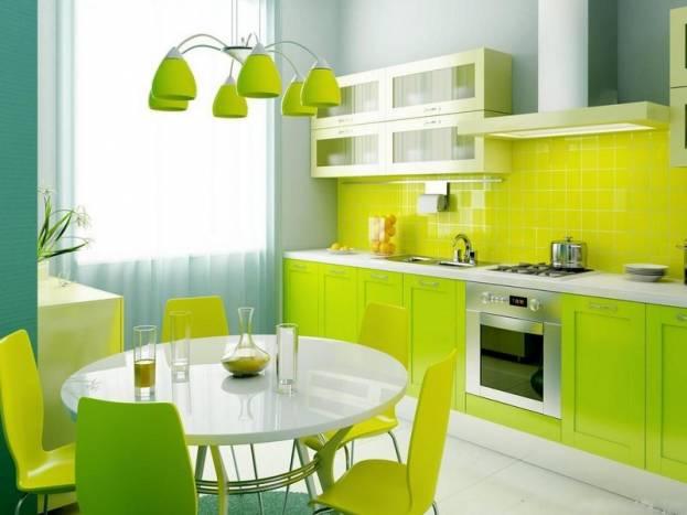 мебель в кухню 9 кв м фото