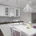 Ремонт на кухне 9 кв. м. в стиле прованс
