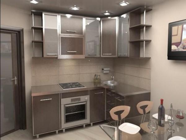 Рекомендации по расположению мебели и бытовой техники в кухне 9 кв м