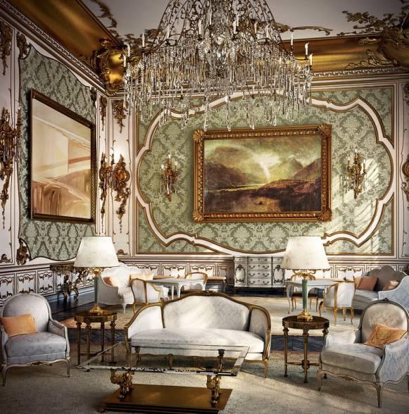 Современный дизайн интерьера в одном из исторических стилей