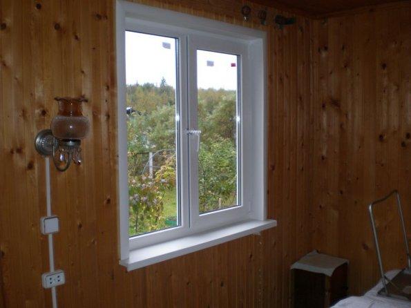 Пластиковые окна для дачи
