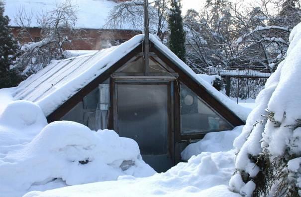 подготовка тепличной конструкции к зиме