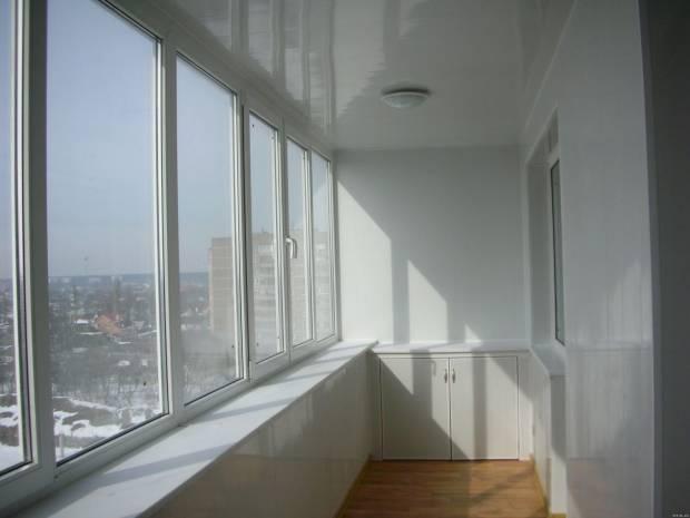 остекления балкона