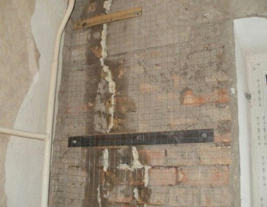 как заделать трещины в стенах кирпичного дома