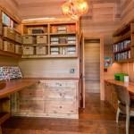 офис в деревенском стиле