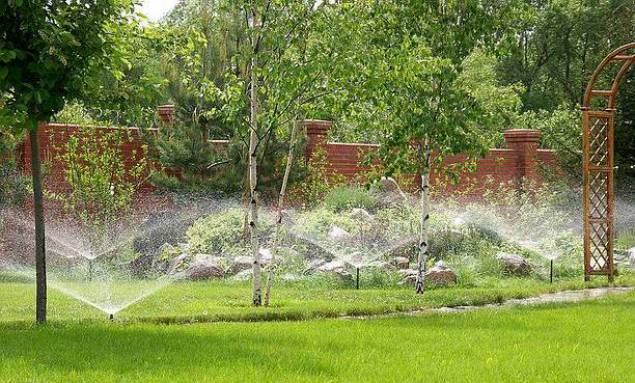 Системы автоматического полива сада