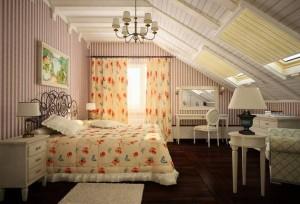 Дачная спальня в стиле прованс