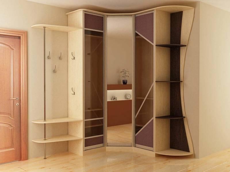 Угловой шкаф в маленькую прихожую дизайн идеи размеры
