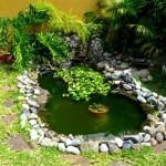 Как оформить искусственный водоем в саду