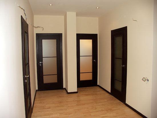 Межкомнатные двери со стеклом в стиле модерн