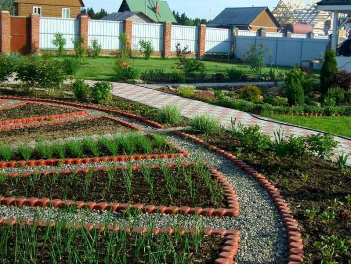 Дизайн проект огорода своими руками 56