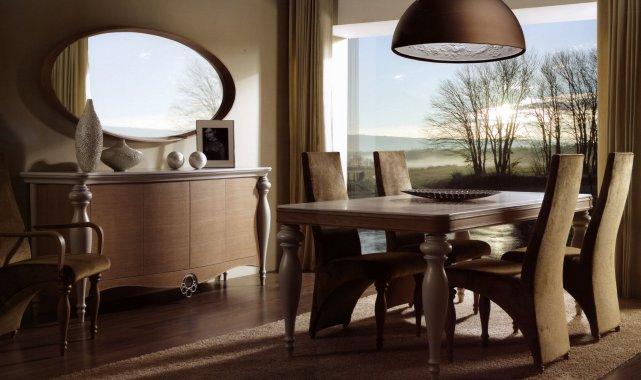 Эксклюзивная мебель в интерьере квартиры