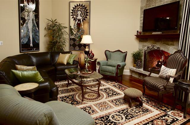 Великолепная гостиная в стиле модерн