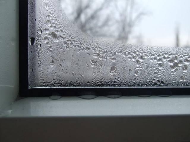 Промерзающие окна и конденсат