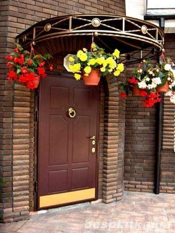 уличные металлические двери для дачи